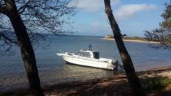 Аренда катера для рыбалки и отдыха. 8 человек, 45км/ч