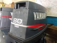 Yamaha. 80,00л.с., 2х тактный, бензин, нога L (508 мм), Год: 1999 год