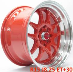 Work Emotion CR-KAI. 8.25x15, 4x100.00, 4x114.30, ET30, ЦО 73,1 мм.