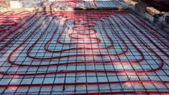 Теплый пол гидравлический (водяной) 200-250 руб/м2