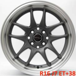 Work Emotion CR-KAI. 7.0x16, 4x100.00, 4x114.30, ET38, ЦО 73,1 мм.