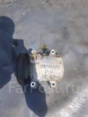 Компрессор кондиционера. Nissan Primera, P11E, FHP11, HNP11, WP11E, WHNP11, WP11, WHP11, P11, HP11 Двигатели: SR20VE, SR18DE, SR20DE