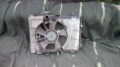 Радиатор охлаждения двигателя. Toyota Ractis, SCP100 Toyota Vitz, KSP90, KSP130, SCP90 Toyota Belta, SCP92, KSP92 Двигатели: 2SZFE, 1KRFE
