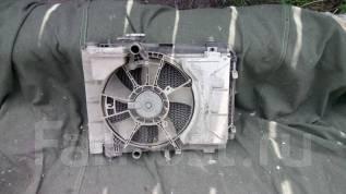 Радиатор охлаждения двигателя. Toyota Vitz, SCP90, KSP130, KSP90 Toyota Belta, SCP92, KSP92 Toyota Ractis, SCP100 Двигатели: 1KRFE, 2SZFE