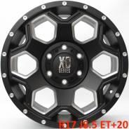 XD Series. 8.5x17, 6x139.70, ET20, ЦО 106,1мм.