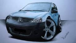 Renault Logan. Куплю Рено Логан аварийное или проблемное