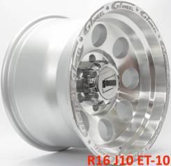 ZW. 10.0x16, 6x139.70, ET-10, ЦО 110,1мм.