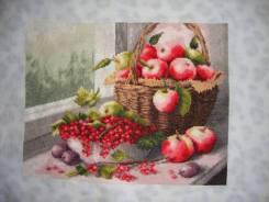 """Вышивка """"Яблочный спас"""""""