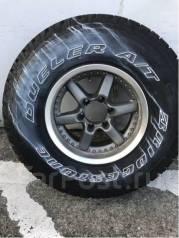 1 шт! Без износа Bridgestone AT 694 285/75/16 на ковке Bradley -8/8/16. 8.0x16 6x139.70 ET-8