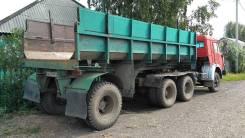 Камаз 5410. Продам ОТС с самосвальным полуприцепом Срочно, 10 000 куб. см., 17 000 кг.
