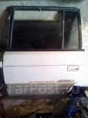 Дверь багажника. Mazda MPV, LVLR
