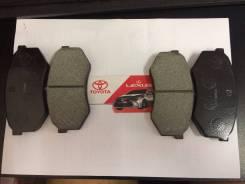 Колодка тормозная дисковая. Toyota: Tacoma, Cresta, 4Runner, Cressida, Hilux, Mark II, Chaser Двигатели: 2RZFE, 5VZFE, 1GGZE, 4SFE, 1JZGTE, 3YP, 1GGE...