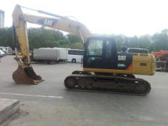 CAT 320 D2 L, 2014. Экскаватор гусеничный CAT 320 D2 L б/у (2014 г., 3900 м. ч. ), 1,30куб. м.