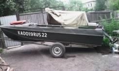 Казанка-5М2. Год: 1981 год, длина 4,60м., двигатель подвесной, 30,00л.с., бензин
