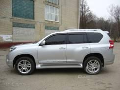 Накладка на дверь. Toyota Land Cruiser Prado, GRJ150W, GRJ150, TRJ150W, GRJ151, GRJ151W, GRJ150L, TRJ150