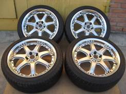 Диски RAYS Volk Racing GT-7 R18+отличное лето 225/45R18. 8.5x18 5x114.30 ET40 ЦО 72,0мм.