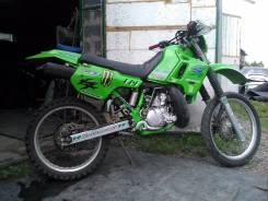 Kawasaki KDX. 200 куб. см., исправен, птс, с пробегом
