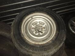 Bridgestone Duravis R670. Летние, 2003 год, износ: 30%, 2 шт