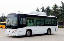 Yutong ZK6852HG. Городской газовый (метан) автобус Yutong (Ютонг) ZK6852HG, 5 200 куб. см., 60 мест