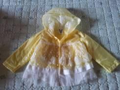 Куртки-дождевики. Рост: 86-98 см