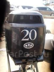 Tohatsu. 20,00л.с., 4-тактный, бензиновый, нога S (381 мм), Год: 2008 год