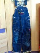 Комбинезоны джинсовые. Рост: 116-122 см