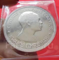 Гана 10 Шиллингов 1958 - Годовщина Независимости (Серебро)