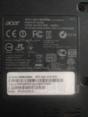 Acer Aspire E1. ОЗУ 3072 Мб, WiFi, Bluetooth