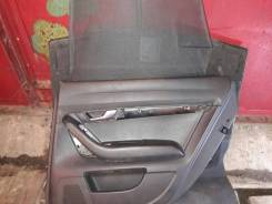 Обшивка двери задней правой со шторкой требует чистки AUDI (Ауди) A6 C6 (А6 С6) 2005-2011