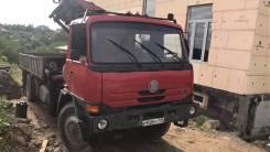 Tatra T815. Продается грузовик бортовой с манипулятором , 12 667 куб. см., 330 000 кг.