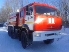 Камаз 5350. Пожарная машина, 11 762 куб. см.