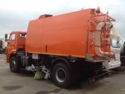 Кургандормаш КО-318Д. Продам вакуумно- подметально уборочную машину Камаз, 6 700 куб. см.