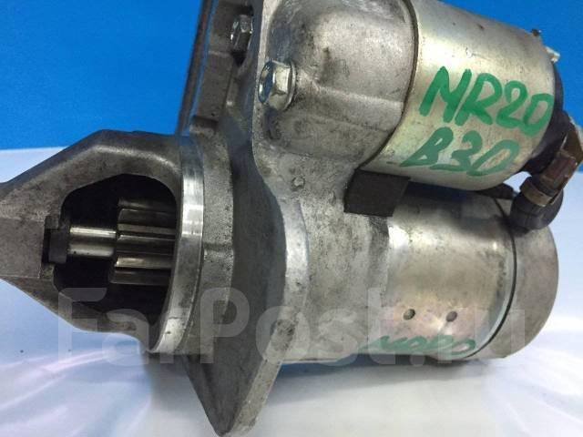 Стартер. Nissan Lafesta, B30 Двигатель MR20DE