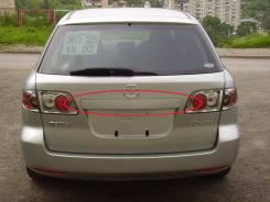 Накладка на дверь багажника. Mazda Mazda6, GY, GYEW, GY3W Mazda Atenza, GYEW, GY3W
