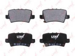 Колодки тормозные дисковые задние LYNX BD-3432