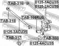 Сайлентблок TAB-166RUB FEBEST