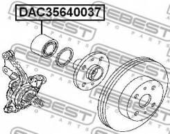 Сальник ступицы колеса DAC35640037 Febest