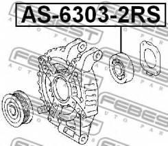 Подшипник шариковый AS-6303-2RS Febest AS63032RS