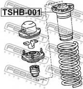 Пыльник амортизатора TSHB-001 Febest
