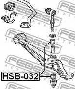 Втулка стабилизатора Febest HSB032