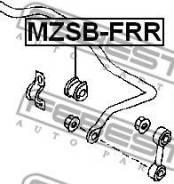 ВТУЛКА ЗАДНЕГО СТАБИЛИЗАТОРА D22.5 Febest MZSB-FRR