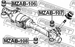 Сайлентблок Рулевой Рейки Febest MZAB-107 MZAB107