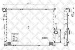Радиатор системы охлаждения STELLOX 10-25128-SX