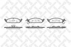 Колодки дисковые п. STELLOX 581 002B-SX