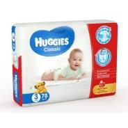 Huggies. 4-9 кг 78 шт