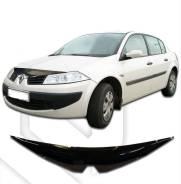 Дефлектор капота. Renault Megane
