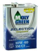 Moly Green. Вязкость 10W-40, полусинтетическое. Под заказ