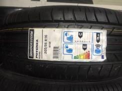 Bridgestone Potenza RE040. Летние, 2017 год, без износа, 4 шт