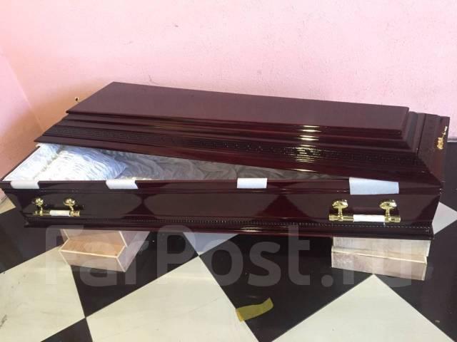 Продажа элитных гробов . Ритуальные услуги