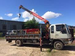 Hino Ranger. Продается грузовик с манипулятором, 7 412 куб. см., 5 000 кг., 10 м.